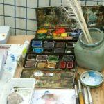 Akvarellgrejor